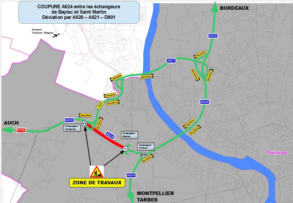 7e15ca0c3a6 A 624 -Réparation du pont sur le Touch-Déviations mises en place par ...