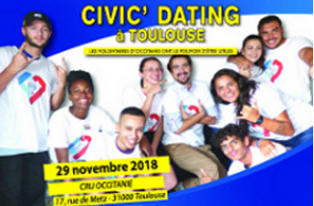 Visuel 2018 Civic'dating CRIJ 29 novembre 2018