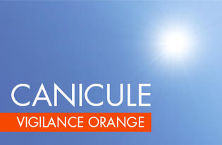 Visuel canicule vigilance orange