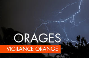Vigilance orange aux orages